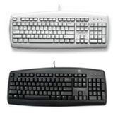 KBD Logitech Value Keyboard White  US