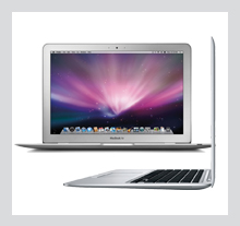 Notebook Apple MacBook Air 13.3\ Intel Core 2 Duo (2.13GHz), 2GB DDR3, 128GB