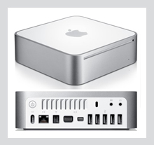 Apple Mac Mini Intel Core 2 Duo - 2.53 GHz, 4GB DDR3, 1TB HDD