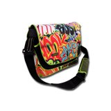 "Carrying Case CANYON CNL-NB01A Bag CANYON Bag for laptop up to 13.3"", Graffiti"