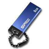 Memory ( USB flash ) SILICON POWER SP008GBUF2835V1B Silicon Power USB 2.0 drive Touch 835 8GB Blue