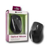 Input Devices - Mouse Box CANYON CNR-MSO01NS Input Devices - Mouse Box CANYON CNR-MSO01N (Cable, Optical 800dpi,3 btn,USB), Black/Silver