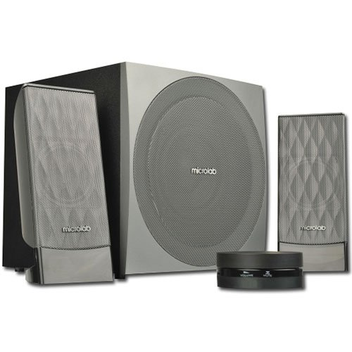 Multimedia - Speaker MICROLAB FC20-3164_BLACK Multimedia - Speaker MICROLAB FC20 (2.1 Channel Surround, 40W, 50Hz-18kHz, RoHS, Black)