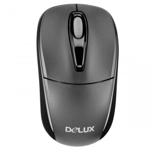 Input Devices - Mouse Box DELUX DLM-105GX-G07UF Input Devices - Mouse DELUX DLM-105GX (Wireless 2.4GHz, Optical 1000dpi, 10M effective distance, NANO receiver inside, Stand by function)
