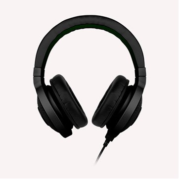 "Multimedia - Headset RAZER RZ12-00870200-R3M1_1 Headphones Kraken Black, 20- 20000Hz, 32 Om, 50mW, 1.3m cable+ 2m extension cable, 3.5""' headphone jack, 280g"
