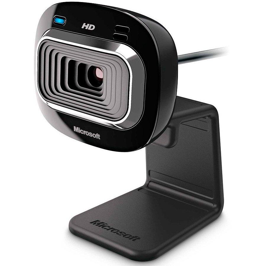 Web Camera MICROSOFT T3H-00012 L2 LifeCam HD-3000 Win USB Port EMEA EG EN/DA/FI/DE/IW/HU/NO/PL/RO/SV/TR