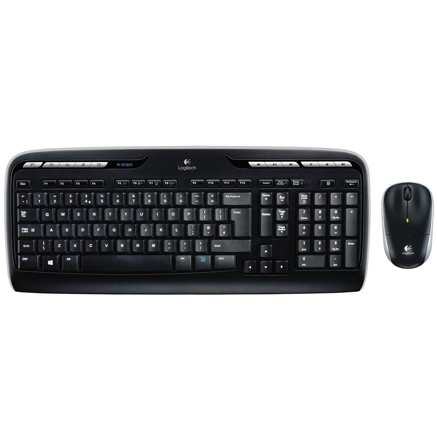 Input Devices - Keyboard Box LOGITECH 920-003999 LOGITECH Wireless Combo MK330 - EER - US International