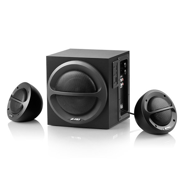 Multimedia - Speaker FENDA A111 Multimedia - Speaker F&D A111 (2.1, 35W, 120Hz-20kHz, Subwoofer: 65Hz-120Hz, USB/SD card reader, Wooden, Black)
