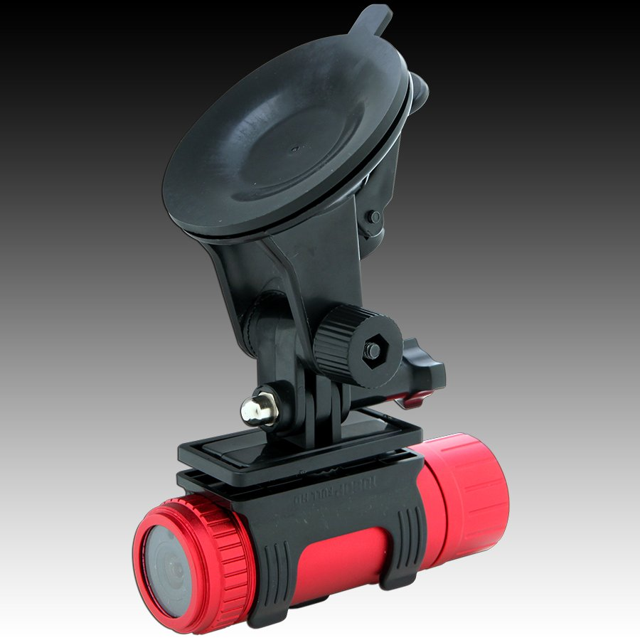 Car Video Recorder PRESTIGIO PCDVRR710X Car Video Recorder PRESTIGIO RoadRunner 710X (1920x1080 Video) Red