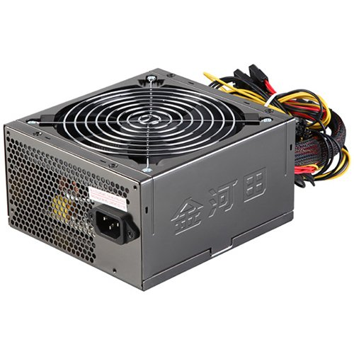 Power Supply Unit GOLDEN FIELD ATX-600W/POWER_BOX ATX-600W [ ATX-600W  Power Supply GOLDENFIELD AC 115/230V, 47/63Hz, DC 3.3/5/12V, 600W, Retail, SLI Ready, 3XSATA conector, 2 x MOLEX, power cable incl., 1x120, Black Nickel, Efficiency 85%