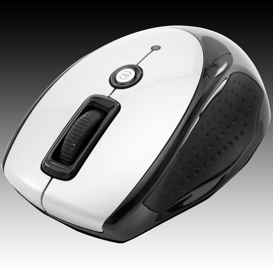 Input Devices - Mouse Box PRESTIGIO PMSOW03SI Мишка PRESTIGIO PMSOW03 (Безжичен 2.4GHz, Оптичен 800dpi/1600dpi,7 btn), Сребрист