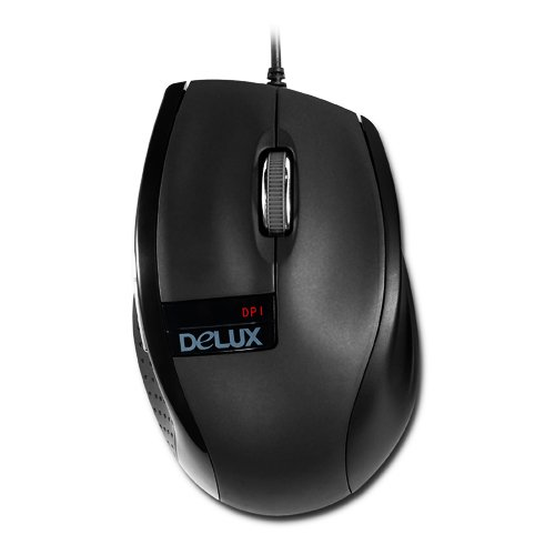 Input Devices - Mouse Box DELUX DLM-396/USB Input Devices - Mouse DELUX DLM-396 (Cable, Optical 1000dpi,3 btn, USB), Black