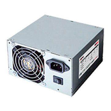 Power Supply Unit RPC PWPS-040000L-BE01A Power Supply RPC 8cm Fan,2x PATA, 2x SATA, 1x FDD, 1x MB 20+4, 1xCPU 4pin, 50Hz, DC 3.3/5/±12V, 40 cm cables, 400W