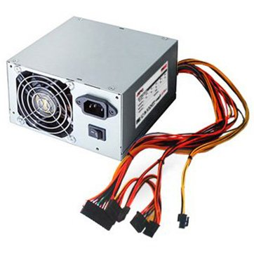 Power Supply Unit RPC PWPS-050P00S-BE01A Power Supply RPC 12cm Fan, Passive PFC, 500W, 1x MB 20+4, 1x 4+4 pin ATX 12V, 1x 6+2 pin PCI-e, 3x SATA, 1x 4pin Molex, 50Hz, DC 3.3/5/±12V, 40 cm cables, European Power Cord