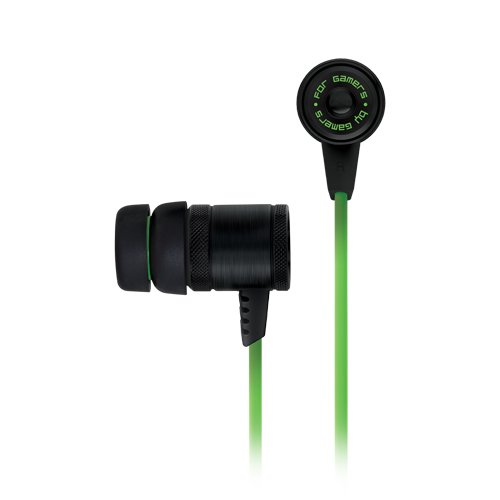 Multimedia - Headset RAZER RZ12-00910100-R3M1 Hammerhead headphones. Include 3 sizes ear-tips and case. Without microphone. Advance passive noise isolation. Enhanced bass with superior clarity