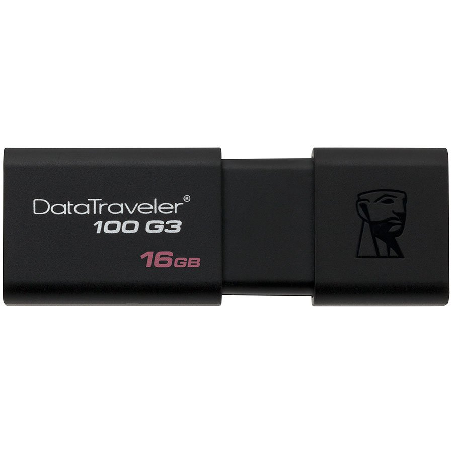 Memory ( USB flash ) KINGSTON DT100G3/16GB Kingston  16GB USB 3.0 DataTraveler 100 G3 (100MB/s read / 10MB/s write), EAN: '740617211702