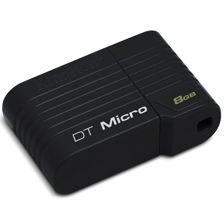 Memory ( USB flash ) KINGSTON DTMCK/8GB KINGSTON 8GB USB 2.0 DataTraveler Micro Черен