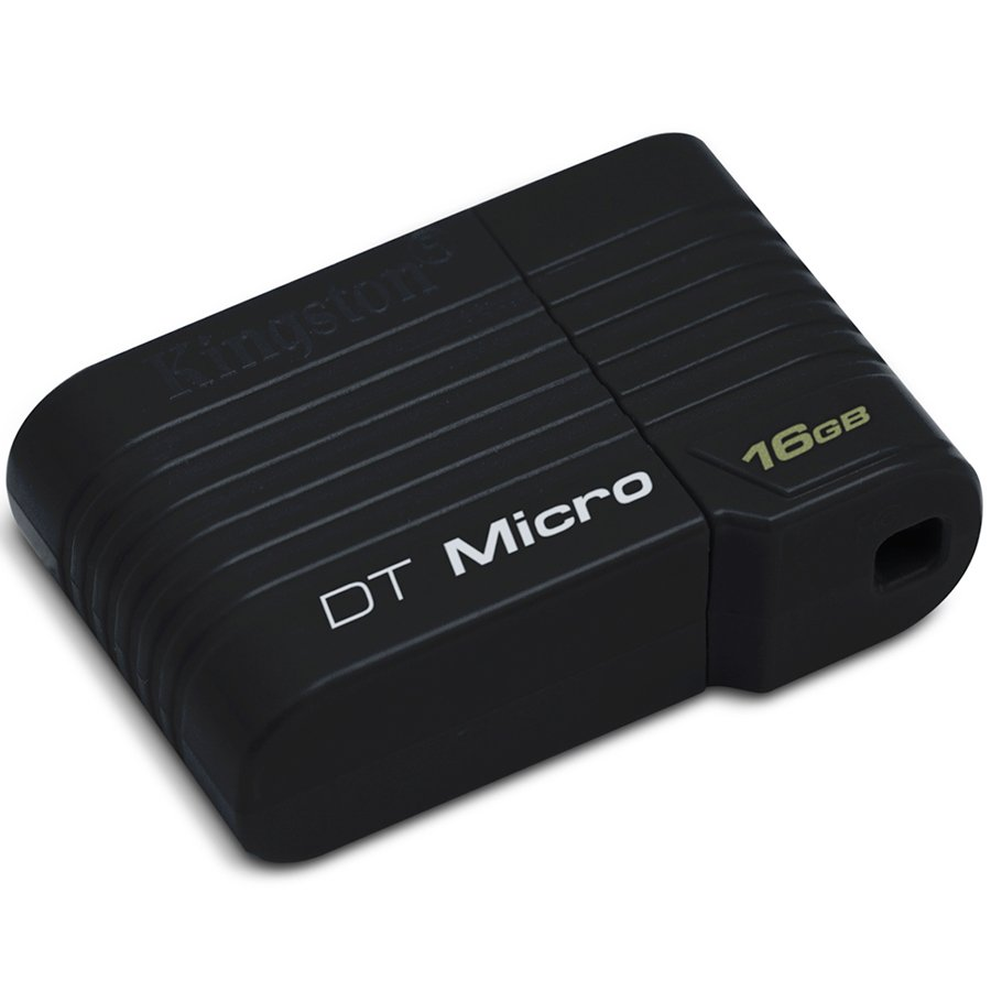 Memory ( USB flash ) KINGSTON DTMCK/16GB KINGSTON 16GB USB 2.0 DataTraveler Micro Черен