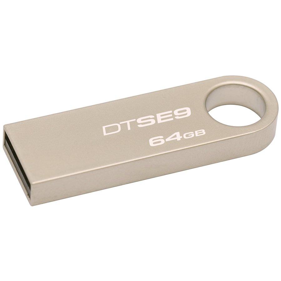 Memory ( USB flash ) KINGSTON DTSE9H/64GB Kingston  64GB USB 2.0 DataTraveler SE9 (Metal casing), EAN: '740617210712