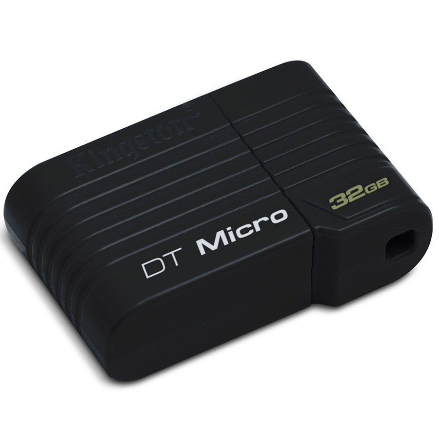 Memory ( USB flash ) KINGSTON DTMCK/32GB KINGSTON 32GB USB 2.0 DataTraveler Micro Черен