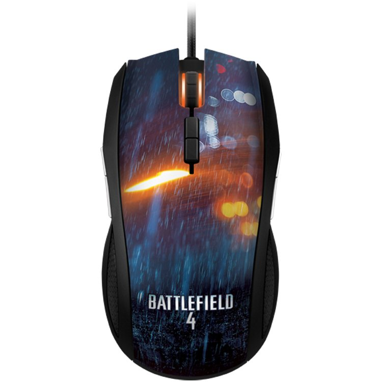 Input Devices - Mouse Box RAZER RZ01-00780200-R3M1 Gaming mouse Battlefield 4 Taipan . 4G dual sensor system 8200 dpi. 9 programmable buttons.