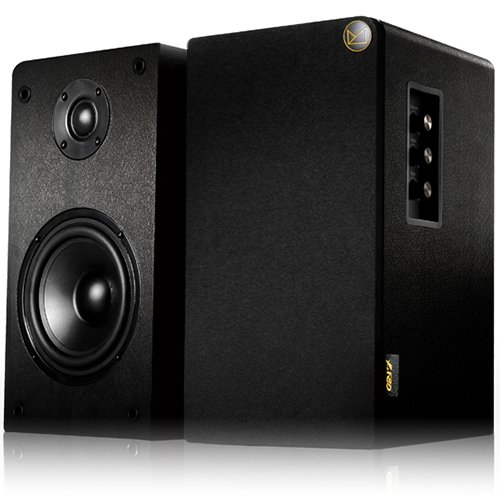 Multimedia - Speaker FENDA R50 Multimedia - Speaker F&D R50 (2.0, 62W, 20Hz-20kHz, Wooden, Black)