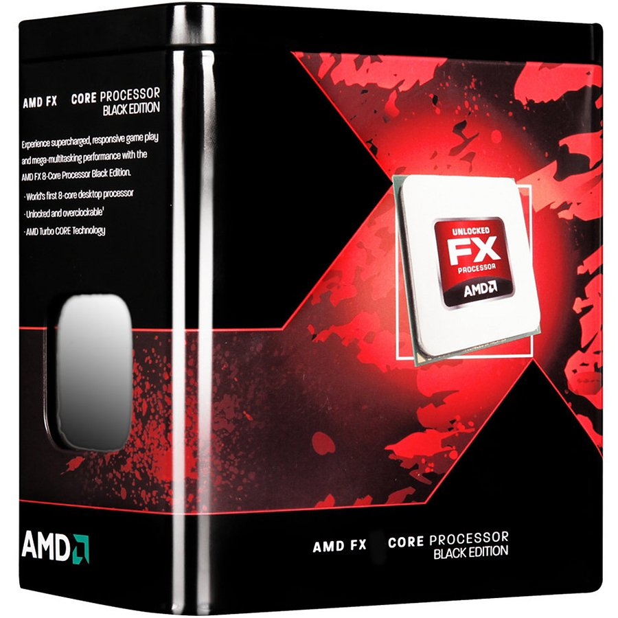 CPU Desktop AMD FD8350FRHKBOX AMD CPU Desktop FX-Series X8 8350 (4.0GHz,16MB,125W,AM3+) box