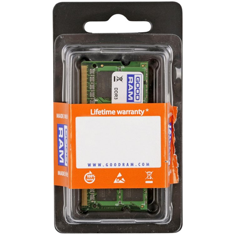 Memory ( Mobile ) GOODRAM GR1600S364L11/2G SODIMM DDR3 2GB PC3-12800 GOODRAM