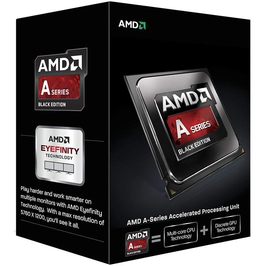CPU Desktop AMD AD6300OKHLBOX AMD CPU Richland A4-Series X2 6300 (3.7GHz,1MB,65W,FM2) box, Radeon TM HD 8370D