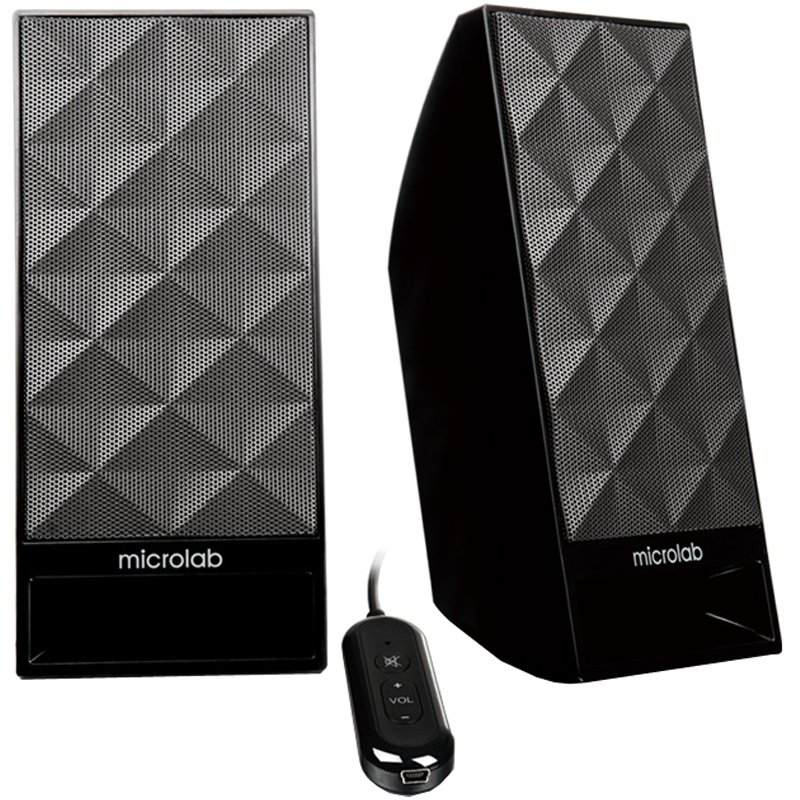 Multimedia - Speaker MICROLAB B53-3164-21020 Multimedia - Speaker MICROLAB B 53 (Stereo, 3W, 100Hz-20kHz, RoHS, Black)