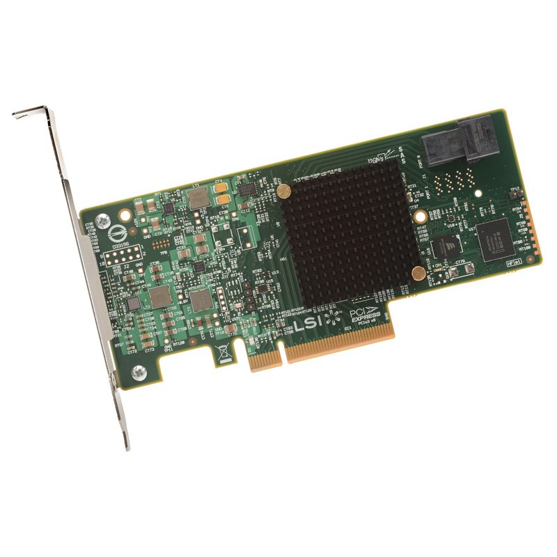 Controller ( RAID ) LSI LOGIC MEGARAID_SAS_9341-4I_SGL LSI Controller Card LSI00419, 4-Port Int, 12Gb/s SATA+SAS, PCIe 3.0, Entry