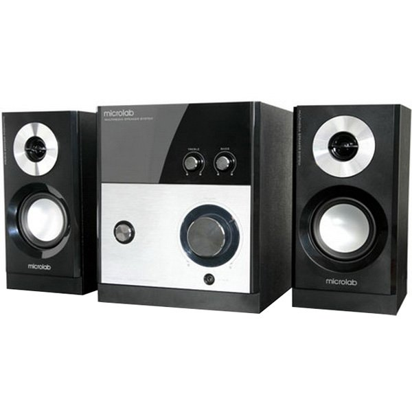 Multimedia - Speaker MICROLAB M880-3164-22002 Multimedia - Speaker MICROLAB M 880 (2.1 Channel Surround, 59W, 40Hz-20kHz, RoHS, Black)