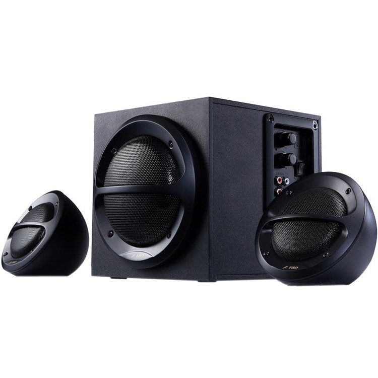 Multimedia - Speaker FENDA A110B Multimedia - Speaker F&D A110 (2.1 Channel Surround, 35W, 120Hz-20kHz, Subwoofer: 65Hz-120Hz, Wooden, Black)