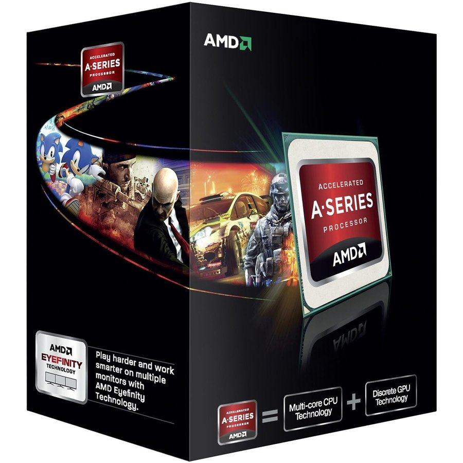 CPU Desktop AMD AD785KXBJABOX AMD CPU Kaveri A10-Series X4 7850K (4.0GHz,4MB,95W,FM2+) box, Black Edition, Radeon TM R7 Series
