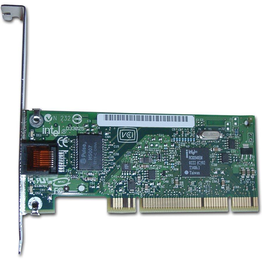 Network Interface Card INTEL PWLA8391GTBLK Мрежова Карта INTEL PRO/1000 GT Desktop Adapter (PCI, 10/100/1000Base-T, 1000Mbps, Gigabit Ethernet) Без опаковка