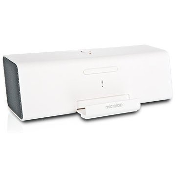 Multimedia - Speaker MICROLAB MD212-3164-02032 Multimedia - Speaker MICROLAB MD212 (Stereo, 2W, 150Hz-20kHz, USB, 3.5mm stereo jack, Bluetooth, rechargeable battery, answering function, RoHS, White)