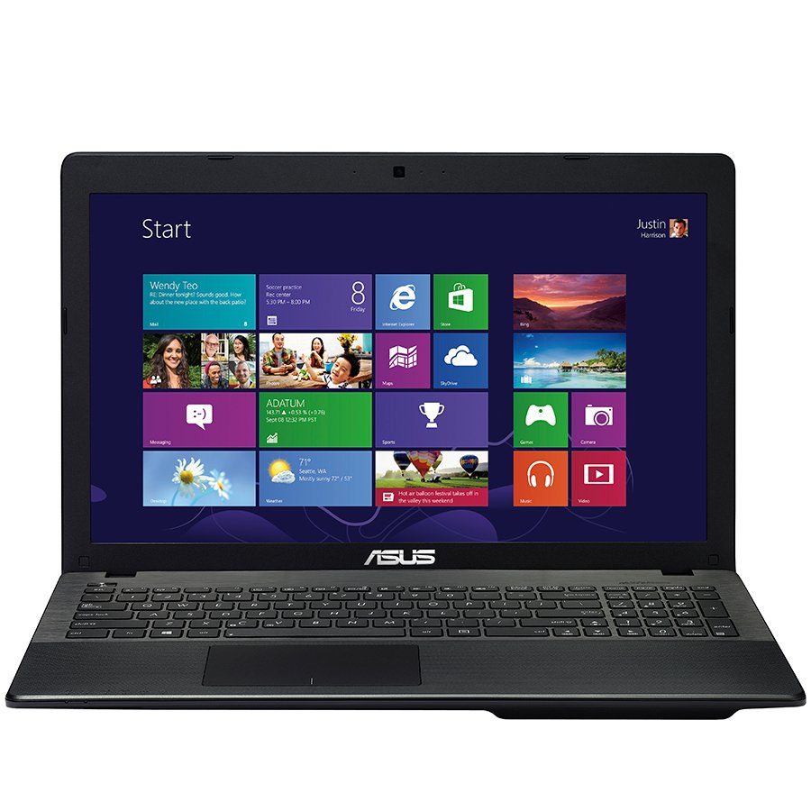 "PC Notebook ASUS X552EP-SX015D 15.6"" HD LED 1366x768, CPU AMD A4-5000 Quad Core 1.5GHz 2M, Ram 6GB, HDD 750GB, AMD Radeon HD 8670M (Sun-XT) 1GB + AMD Radeon Mobility HD 8330 APU, DVD, BT4.0, HDMI, 2xUSB 3.0, Plastic Texture chassis, 2.3kg."