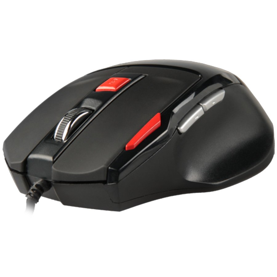 Input Devices - Mouse Box NATEC NMG-0278 Mouse GENESIS G55 Gaming.2000 DPI precision optical sensor,4 levels DPI switch, 7 buttons, burst fire button, 'always on' mode, ergonomic design, comfortable side grips, gold plated USB connector, wired