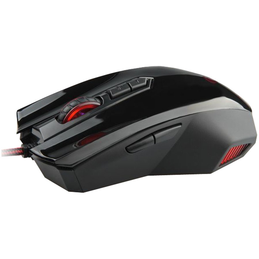 Input Devices - Mouse Box NATEC NMG-0376 Mouse GENESIS GX 66 Gaming. 3200dpi precise sensor.DPI up/down buttons with color LED indicator,gaming software with profile editor,9 programmable keys (including scroll up/down),adjustable illumination modes, wire