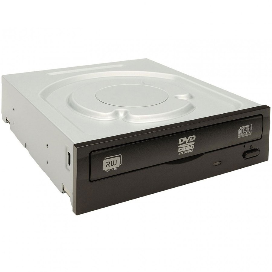 ODD DVD-RW LITE ON IHAS122-14 LITE ON IHAS122 DVD-RW 22x Super Multi, SATA, Black, Bulk