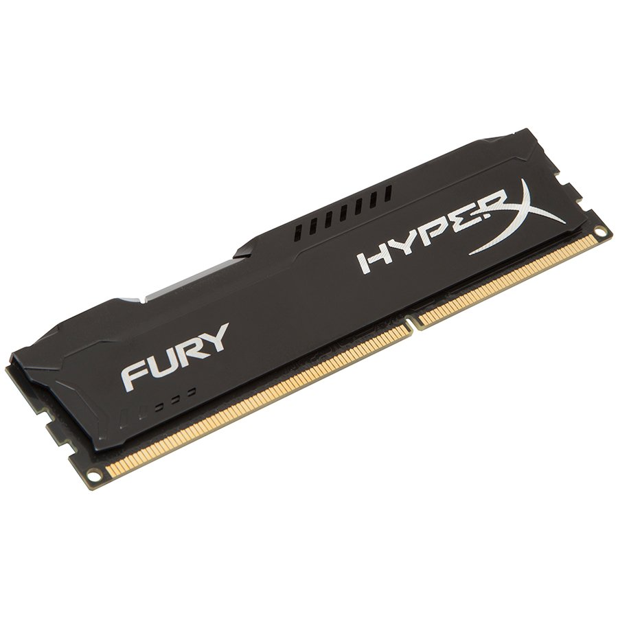 Memory ( Desktop ) KINGSTON HX316C10FB/8 Kingston  8GB 1600MHz DDR3 CL10 DIMM HyperX FURY Black, EAN: '740617230406