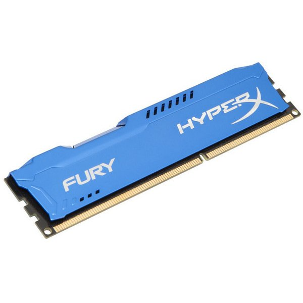 Memory ( Desktop ) KINGSTON HX316C10F/4 Kingston  4GB 1600MHz DDR3 CL10 DIMM HyperX FURY Blue, EAN: '740617230376