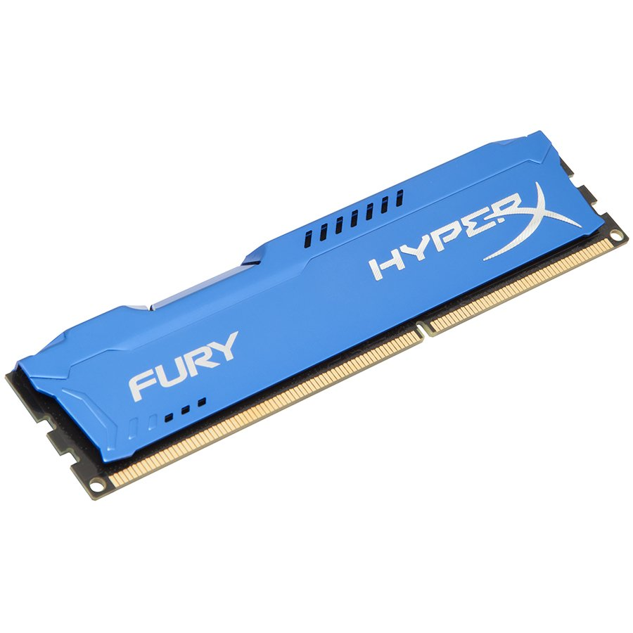 Memory ( Desktop ) KINGSTON HX316C10F/8 Kingston  8GB 1600MHz DDR3 CL10 DIMM HyperX FURY Blue, EAN: '740617230383