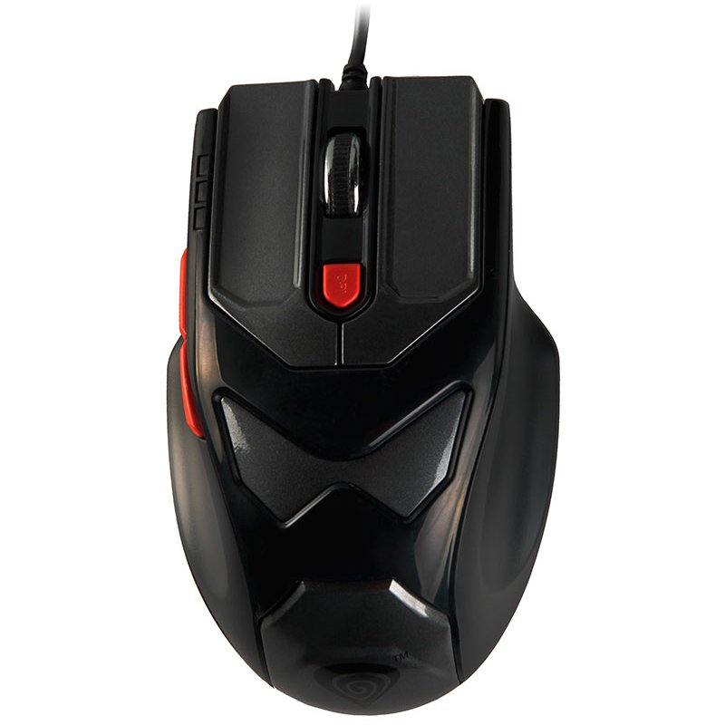 Input Devices - Mouse Box NATEC NMG-0279 Mouse GENESIS G77  2000DPI Gaming. Precision optical sensor, 4 levels DPI switch, 6 buttons, always on mode, 2.5m cable