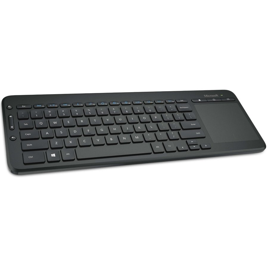 Input Devices - Keyboard MICROSOFT N9Z-00022 Microsoft Wireless All-in-One Media Keyboard - Micro USB Receiver