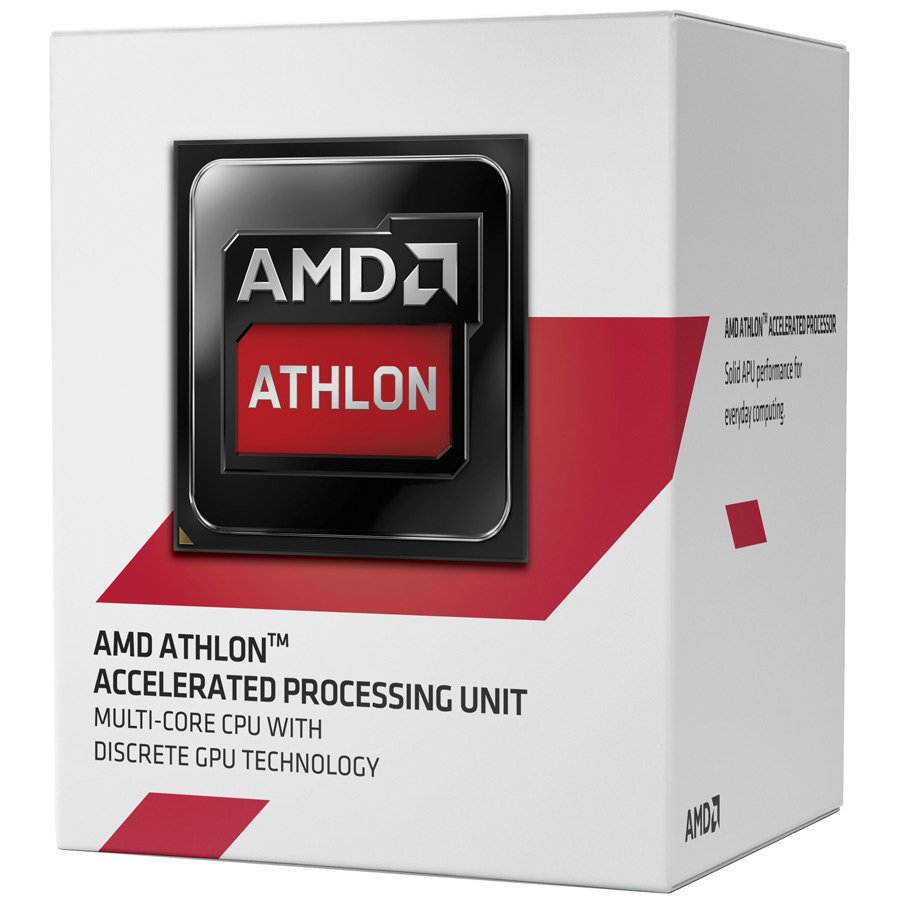 CPU Desktop AMD AD5350JAHMBOX AMD CPU Kabini Athlon X4 5350 (2.05GHz,2MB,25W,AM1) box, Radeon HD 8400
