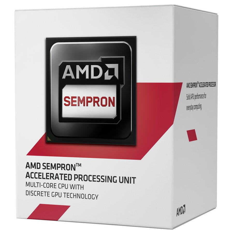 CPU Desktop AMD SD3850JAHMBOX AMD CPU Kabini Sempron X4 3850 (1.3GHz,2MB,25W,AM1) box, Radeon R3