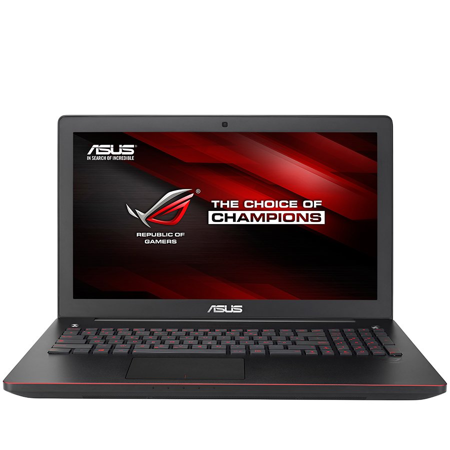 "PC Notebook ASUS G550JK-XO265D G550JK 15.6"" HD 1366x768 Non-glare, CPU Intel Core i5-4200H up to3.4GHz 3M, Ram 8GB, HDD 750GB+SSH 8GB, VGA NV GF GTX 850M 2GB, DVD, BT4.0+WiDi, Illuminated KB, Alum ch, B&O Ice Power speakers, HDMI 1.4, Extl Sub."