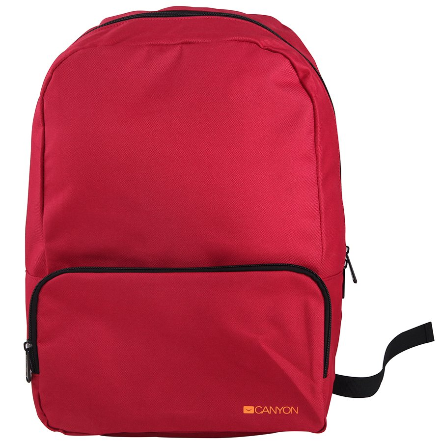Carrying Case CANYON CNE-CNP15S1R CANYON CNE-CNP15S1R Practical backpack for walk, sport and every day. Color red Main compartment with small zipper pocket on the front for your essential accessoriesMade of durable materials