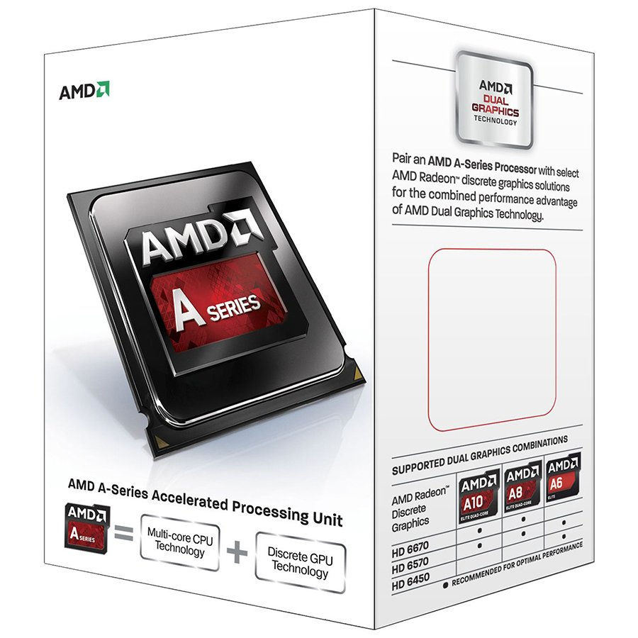 CPU Desktop AMD AD7600YBJABOX AMD CPU Kaveri A8-Series X4 7600 (3.8GHz,4MB,65W,FM2+) box, Radeon TM R7 Series